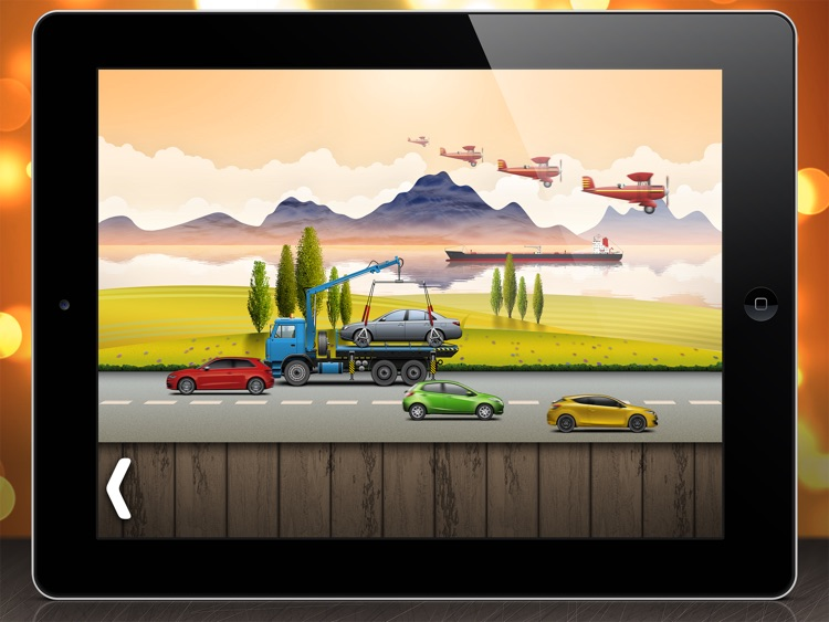 On the road - puzzle for toddlers and kids screenshot-3