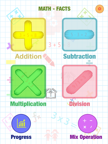 Screenshot #4 pour Math Fact Montessori : Addition, Subtraction, Multiplication, Division And Mix Operation