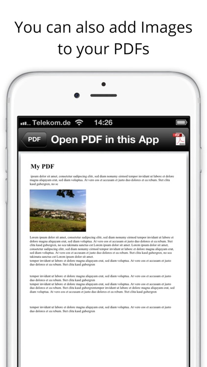 PDF Creator - Create your own PDF