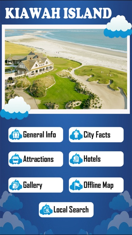Kiawah Island Offline Map Tourism Guide screenshot-1
