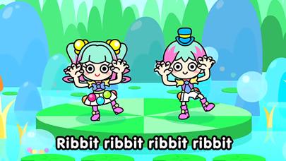 【無料版】かえるの合唱(がっしょう) ~ぬりえで遊べる赤ちゃん・子供向けのアニメで動く絵本アプリ:えほんであそぼ!じゃじゃじゃじゃん童謡シリーズのおすすめ画像3