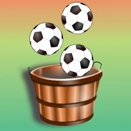 100 Football Balls