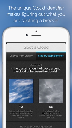 Cloudspotter see the sky with new eyes and discover the fantastic cloudspotter see the sky with new eyes and discover the fantastic world of clouds on the app store fandeluxe Choice Image