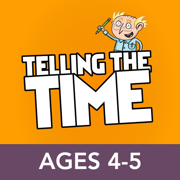 Telling the Time Ages 4-5: Andrew Brodie Basics on the App ...
