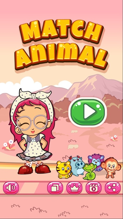 Funny Match Animal - free brain match game screenshot-3