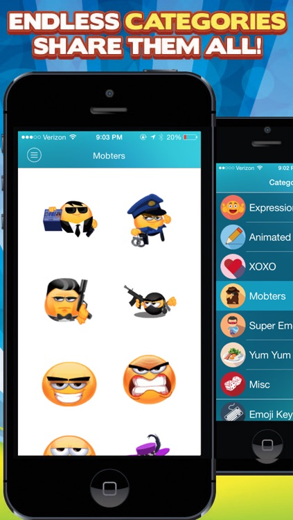 3D Animated Emoticons - Keyboard for iPhone + iPad screenshot-4