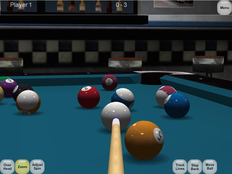Virtual Pool HD screenshot-3