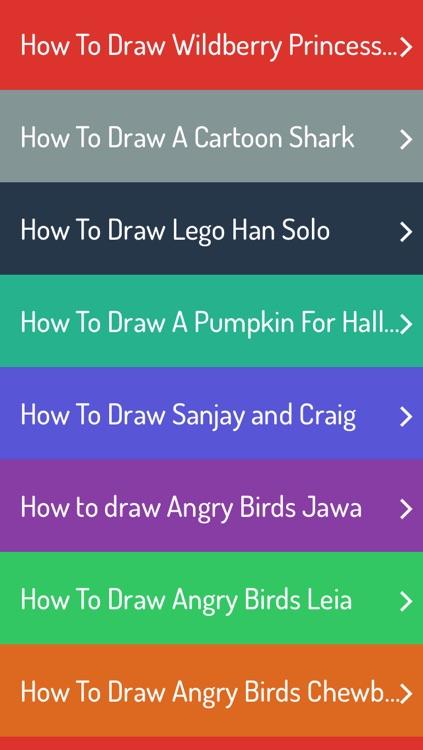 How To Draw Cartoon screenshot-3