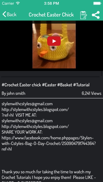 How To Crochet - Easter Special