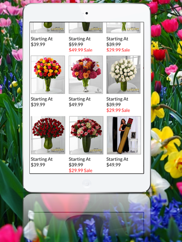 Buy Flowers-ipad-1