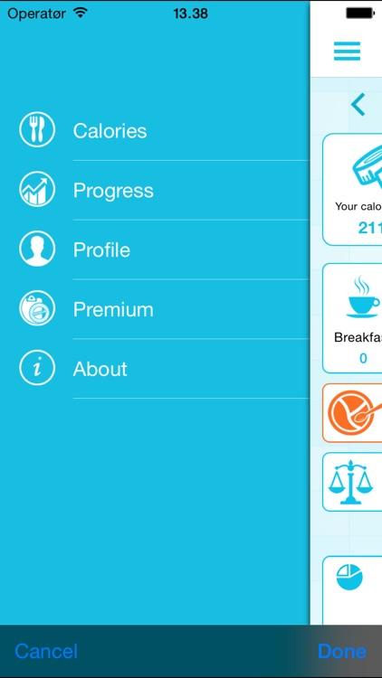 Calorie Counter and Weight Loss Watcher screenshot-3