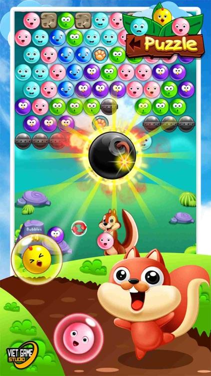 Funny Bubble Shooter Birds HD 2 screenshot-3