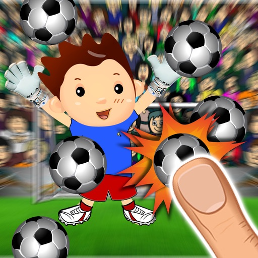 Flick Football : Score Infinite Slide