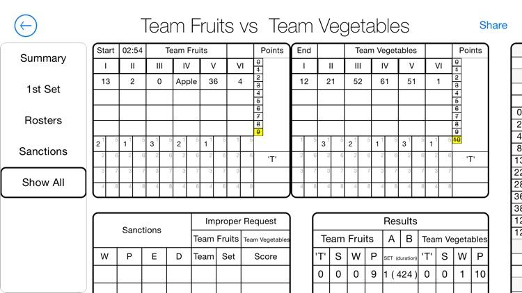 Volleyball Referee: The Advanced Scoreboard System screenshot-4