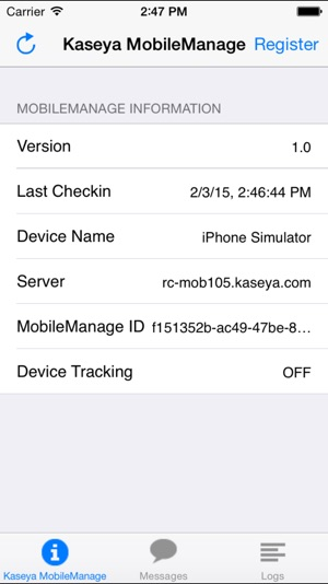 Kaseya MobileManage on the App Store