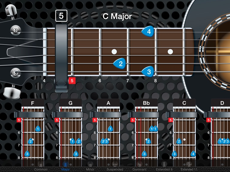 Capo Acoustic - Guitar Chords and Tabs
