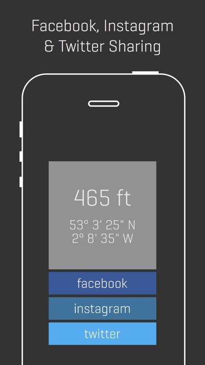 Alti - Minimalist Travel Altimeter & Compass screenshot-4