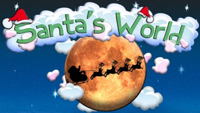 Santa's World Free: An Educational Christmas Game for Kids and Elves screenshot one