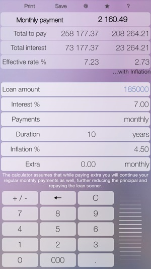 mortgage loan calculator on the app store