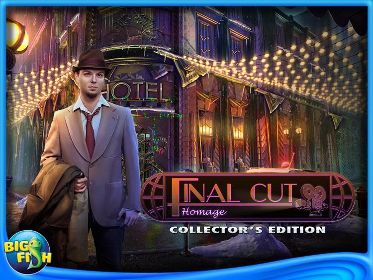 Final Cut: Homage HD - A Hidden Objects Mystery Game screenshot-4