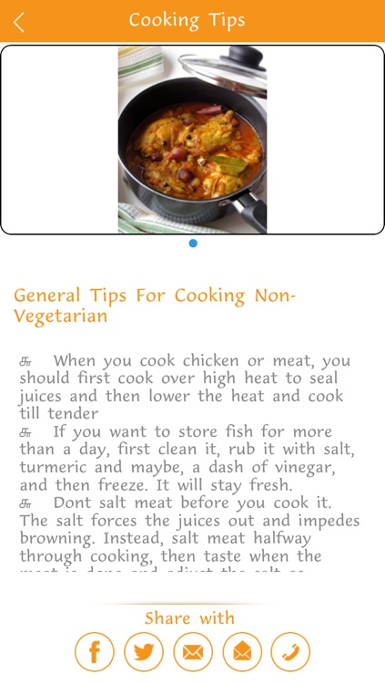 Cooking Tips screenshot-3