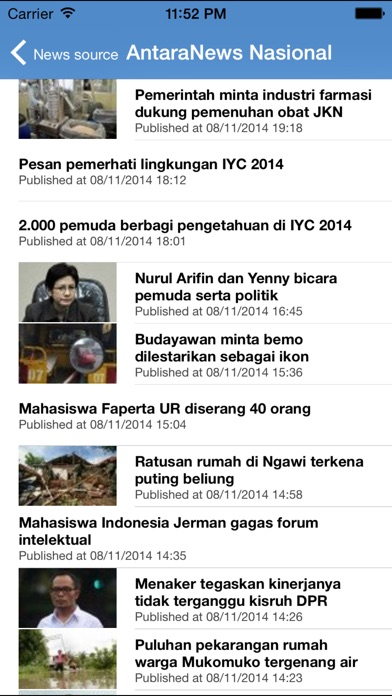 Indonesia Berita News iPhone