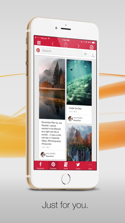 Facely HD for Facebook + Social Apps Browser screenshot-3