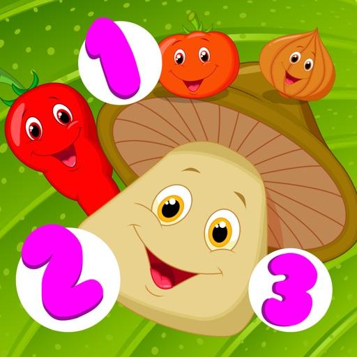 Активная! Игра Для Детей, Чтобы Научиться Считать 1-10 С Овощами