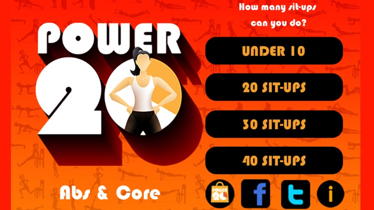 20 Minute Ab Workouts Free: Power 20