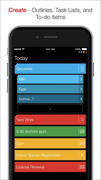 Suru - Organize | Outline | To-do