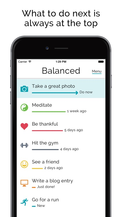 Balanced - Habits tracker & life goals motivation screenshot-2