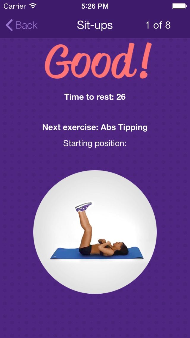 Amazing Abs – Personal Fitness Trainer App – Daily Workout Video Training Program for Flat Belly and Calorie Burn-3