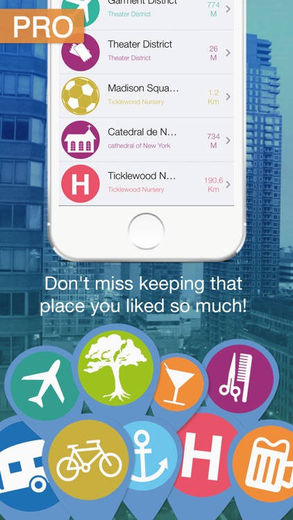 My Places Pro: Save your favorite places