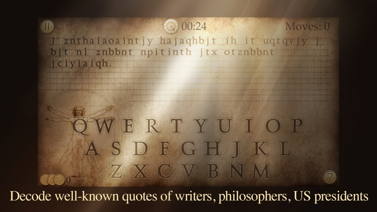 Next Quote - What's the Quote? Break the code & solve cryptogram to acquire the wisdom!