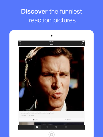 Screenshot #4 pour Memeful - Animated GIF and Reaction face for SMS
