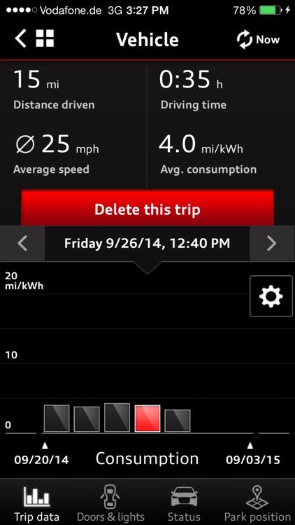 Audi A3 e-tron connect App by Audi