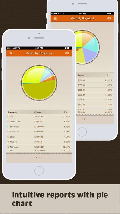Debts Monitor Pro - Debt Tracker and Reminder screenshot-4