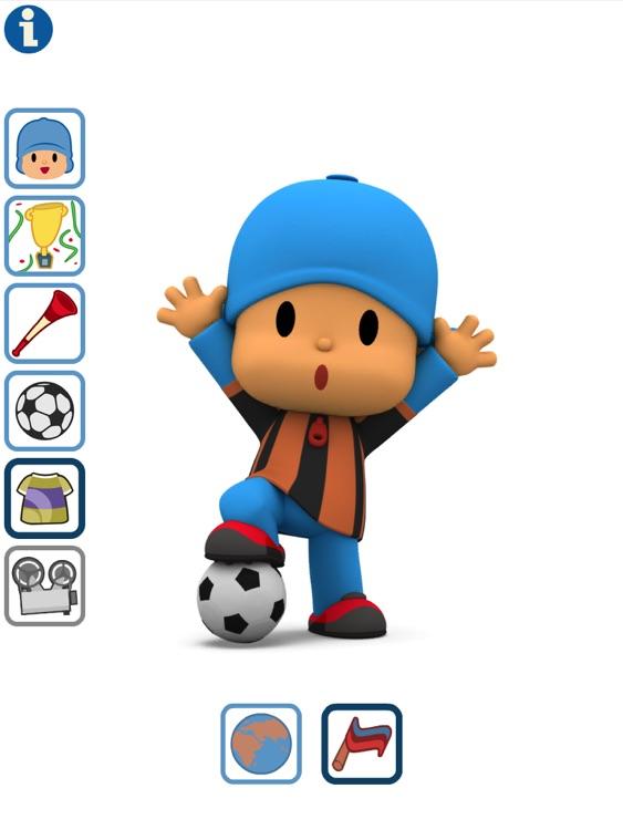 Talking Pocoyo Football HD screenshot-3