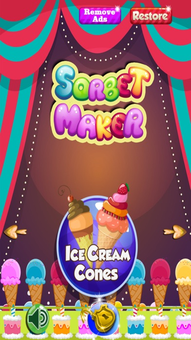 Sorbet Maker - Pop Your Favorite Ice Cream Dessert With Cake screenshot one