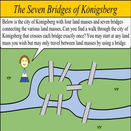 Seven Bridges Game - 6 game set with 96 levels !