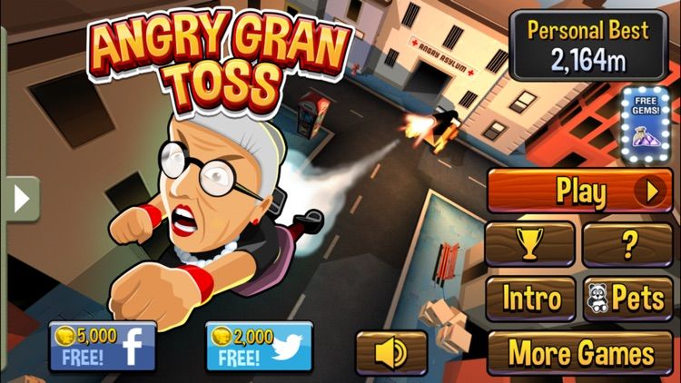 Angry Gran-Toss screenshot-0