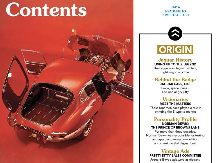 Jaguar E-Type Essentials Interactive Book