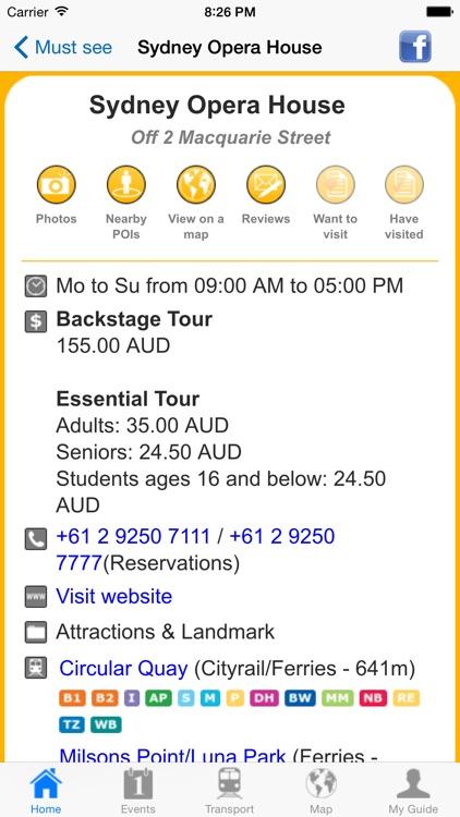 Sydney Travel Guide Offline screenshot-4