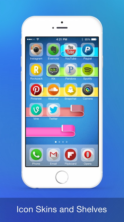 Cool Theme - Wallpaper for iPhone 6 & iOS 8 screenshot-4