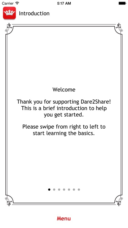 Dare2Share English screenshot-1