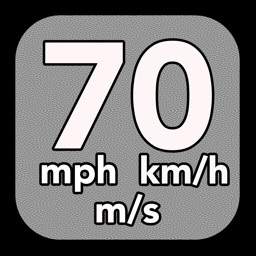 Speedometer: speed detection in miles per hour, kilometers per hour and meters per second