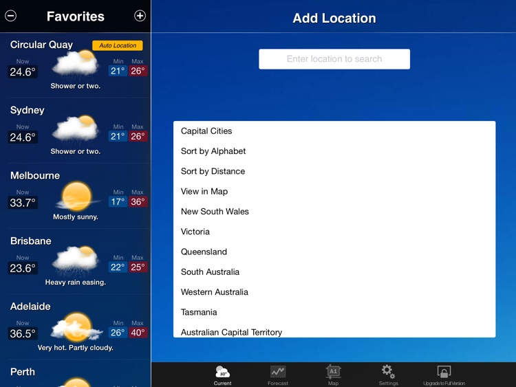 AUS Weather for iPad screenshot-4