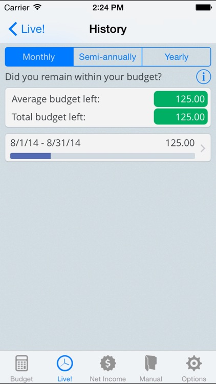 NetIncome - Create and manage your monthly budget screenshot-3