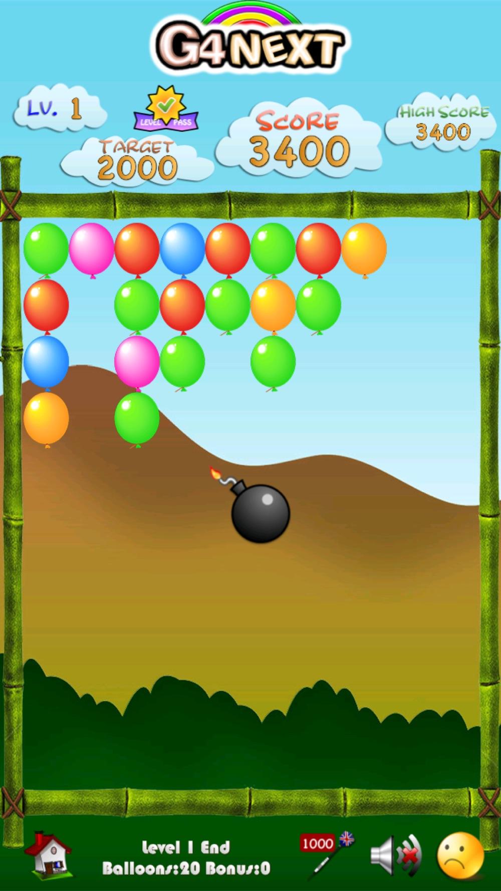 Bomb Balloons! Cheat Codes