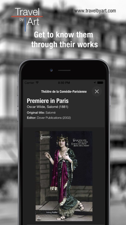 TravelbyArt - Discover the Paris of Famous Artists screenshot-4